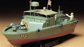 A small number of Tamiya kits of river and patrol boats produced to match with military modelling scales
