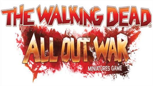 Mantic Games All Out War - The Walking Dead game starter, expansion and boosters