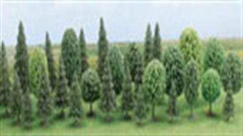 Model trees for model railways and military dioramas.