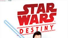 Star Wars Destiny, a collectible dice and card game for two players!