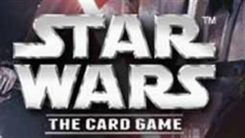 Star Wars trading card game cards, force packs and accessories.