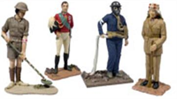 Corgi Miliatry & Forward March Detailed diecast figures of famous people, civilian and military, plus historical diorama scenes.