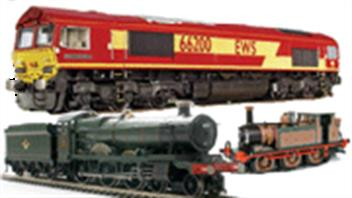 OO gauge model railway steam, diesel and electric locomotive models. From Bachmann, Hornby, Dapol, Hornby, Heljan, Oxford Rail and Hattons.