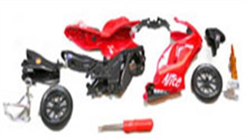 Ready To Assemble Motorbike Kits  Screw together model kits of popular race and road bikes