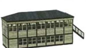Street Level Models OO scale card building kits