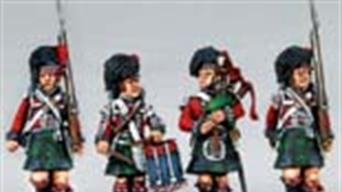 Wargaming figures from the Napoleonic wars  era, 1789 to 1815