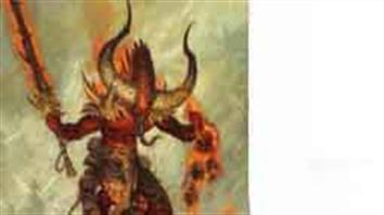 Games Workshop Warhammer Age or Sigmar Chaos Daemons / Daemons of Chaos. Malevolent spirits born out of the destructive power of Chaos