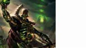 Games Workshop Warhammer 40K Necrons. A race of sentient androids who traded their souls for the gift of immortality.