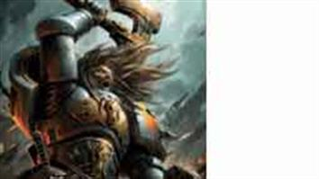 Games Workshop Warhammer 40K space wolves figures. With blood-chilling howls the warriors of the Space Wolves hurl themselves into battle.