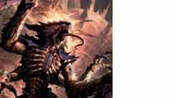 Games Workshop Warhammer 40K Tyranids. The Tyranids are the most alien of the races to infest Imperial space.