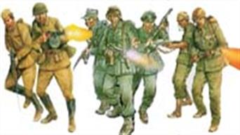 WW2 era figures for wargames and 1:72 scale dioramas.
