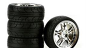 wheels and tyres for radio control cars