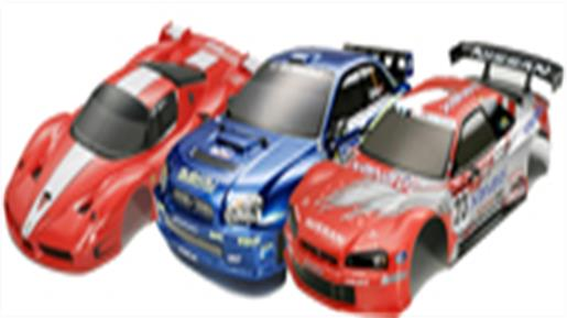 bodyshells and accessories for radio control cars