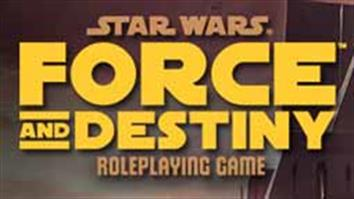 Star Wars Force and Destiny role playing game. Experience the power of the Force in this Star Wars roleplaying game!