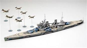 The wide range of 1:700 scale kits include most major units from the WW2 era, including most of the Imperial Japanese Navy.