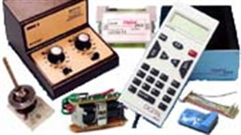 Train controllers, electric point motors and model railway automation accessories.