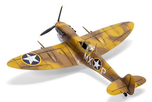 Airfix A02108 Supermarine Spitfire Mk.VC WW2 Fighter Aircraft Kit 1/72