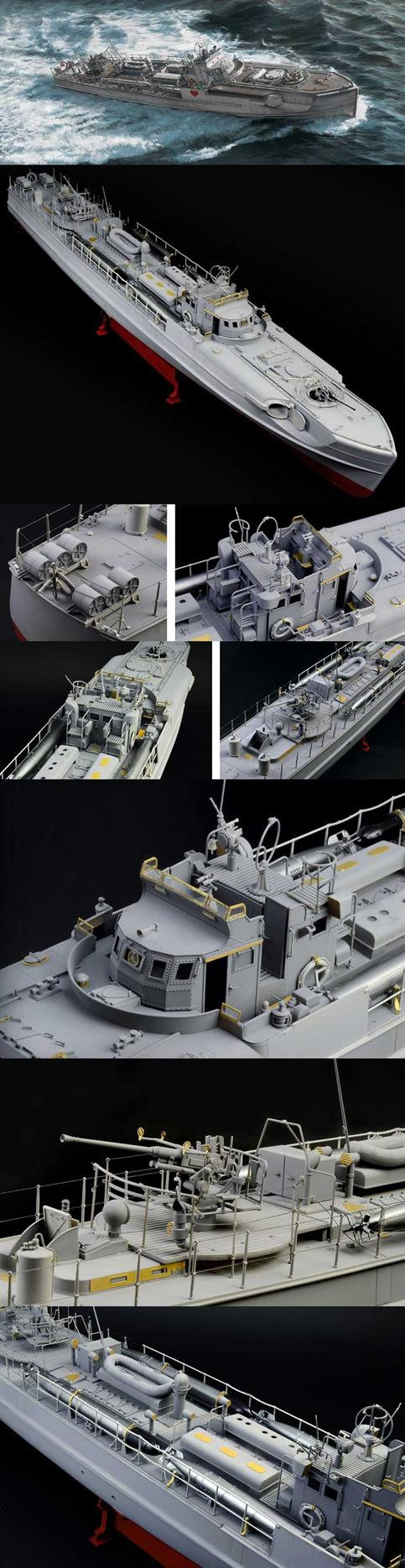 5620 is a new Italeri  1:35 scale model kit dedicated to the Type S-38 Schnellboot, the famous fast attack craft used by the German Navy during the Second World War. T