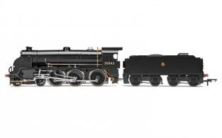 Hornby R3328 00 Gauge BR 4-6-0 Maunsell S15 Class - BR Early Black LiveryA good, high detail model of the Southerns' S15 has long been a missing link in the SR locomotive fleetDCC Type: DCC Ready