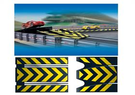 Scalextric 1/32 Sport Track Leap Straights 350mm Track C8211Consists of 2x Leap Straights (ramp up + ramp down) 350mm