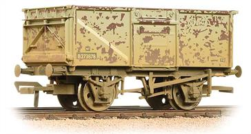 A very good model of the standard BR 16-ton steel mineral wagon. Over 200,000 of these wagons were built to replace wooden wagons used for coal and mineral traffic.