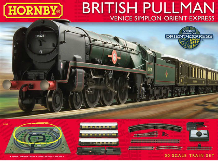 Hornby OO The British Pullman Venice Simplon-Orient Express Train Set R1162
