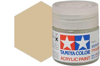 Tamiya X-31 metallic titanium gold, acrylic paint suitable for brush or spray painting.