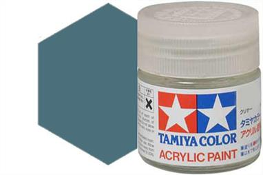 Tamiya XF-65 matt field grey, acrylic paint suitable for brush or spray painting.