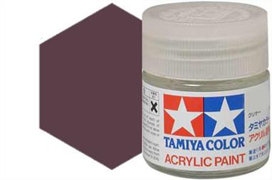 Tamiya X-33 metallic bronze, acrylic paint suitable for brush or spray painting.