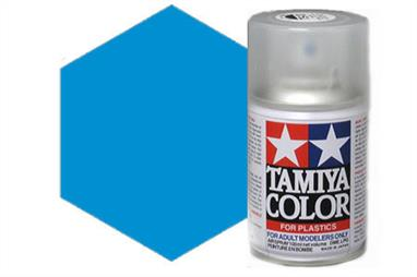 Tamiya TS10 French Blue Spray Paint 100ml TS-10These cans of spray paint are extremely useful for painting large surfaces, the paint is a synthetic lacquer that cures in a short period of time. Each can contains 100ml of paint, which is enough to fully cover 2 or 3, 1/24 scale sized car bodies.