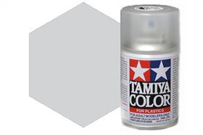 Tamiya TS17 Gloss Aluminium Synthetic Lacquer Spray Paint 100ml TS-17These cans of spray paint are extremely useful for painting large surfaces, the paint is a synthetic lacquer that cures in a short period of time. Each can contains 100ml of paint, which is enough to fully cover 2 or 3, 1/24 scale sized car bodies.