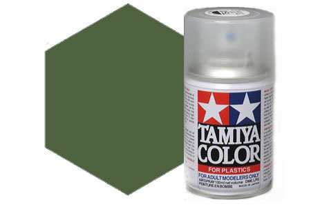 Tamiya  TS28 Olive Drab Synthetic Lacquer Spray Paint 100ml  TS-28