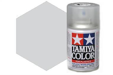 Tamiya TS30 Silver Leaf Synthetic Lacquer Spray Paint 100ml TS-30These cans of spray paint are extremely useful for painting large surfaces, the paint is a synthetic lacquer that cures in a short period of time. Each can contains 100ml of paint, which is enough to fully cover 2 or 3, 1/24 scale sized car bodies.