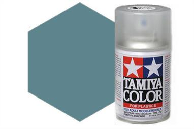 Tamiya TS32 Haze Grey Synthetic Lacquer Spray Paint 100ml TS-32These cans of spray paint are extremely useful for painting large surfaces, the paint is a synthetic lacquer that cures in a short period of time. Each can contains 100ml of paint, which is enough to fully cover 2 or 3, 1/24 scale sized car bodies.