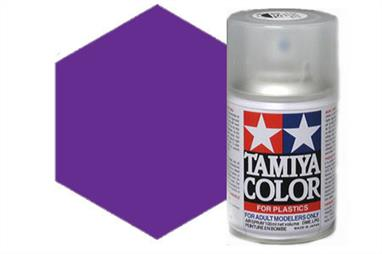 Tamiya TS37 Lavender Synthetic Lacquer Spray Paint 100ml TS-37These cans of spray paint are extremely useful for painting large surfaces, the paint is a synthetic lacquer that cures in a short period of time. Each can contains 100ml of paint, which is enough to fully cover 2 or 3, 1/24 scale sized car bodies.