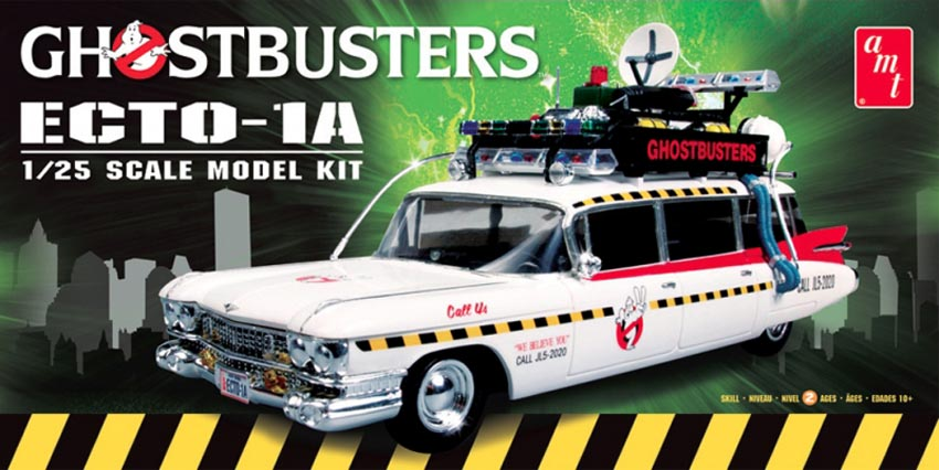 AMT/ERTL 1/25 Ghostbusters ECTO 1  Plastic kit AMT750/12