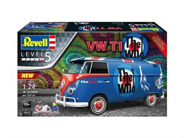 Revell 05672 1/24th VW T1 The Who Kit Gift Set