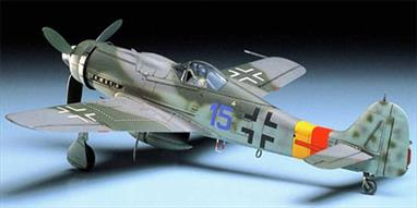 Tamiya 1/48 Focke Wulf FW190 D-9 WW2 Fighter Aircraft Kit 61041Glue and paints are required