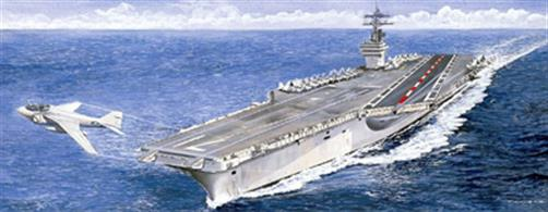 Italeri 1/720 USS Roosevelt Aircraft Carrier Kit 5531Model Length 447mm.Glue and paints are required to complete the model (not included)