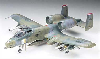 Tamiya 1/72 A-10A Thunderbolt II 60744Glue and paints are required to assemble and complete the model (not included)Click on the More link to view related products.