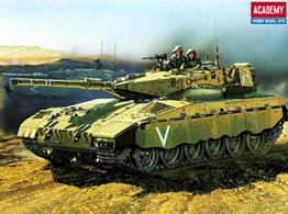 The Merkava is sleek, fast and very mobile, as well as an extremely accurate tank built by the Israelis.