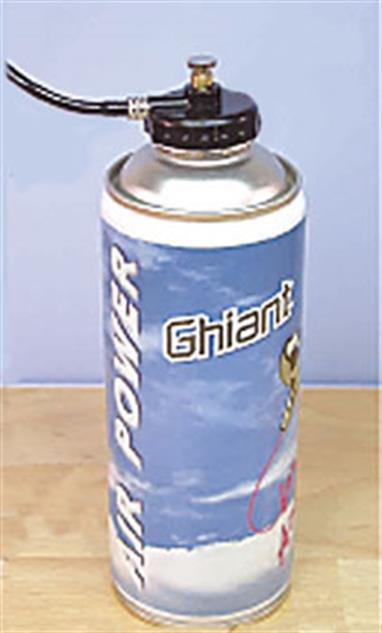 Ghiant Airbrush Propellant 400ml M12400ml can of compressed air airbrush propellant
