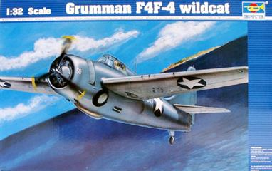 In 1942 during the critical stages of the Pacific War, the F4F-4 was an improved version of the Wildcat with folding wings and six wing mounted .50 calibre machine guns plus a more powerful engine broke the dominance of the Japanese Zeros.Requires polystyrene cement and paint to complete the model