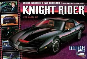 MPC 1/25 Knight Rider KITT 1982 Pontiac Firebird Kit MPC806Glue and paints are required to assemble and complete the model (not included)
