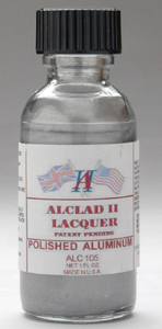 Alclad Highly Polished Aluminium Cellulose Lacquer ALC105