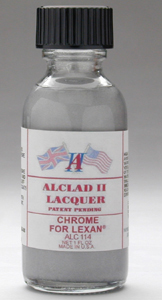 Alclad Chrome High Shine Finish for Lexan Cellulose Lacquer ALC114