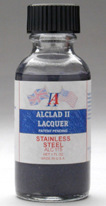 Alclad Stainless Steel High Shine Finish Cellulose Lacquer ALC115