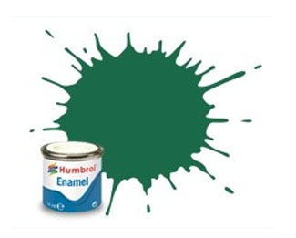 30 Matt Dark Green Enamel Paint 14ml