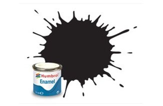 33 Matt Black Enamel Paint 14ml