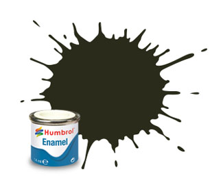 53 Metallic Gunmetal Enamel Paint 14ml